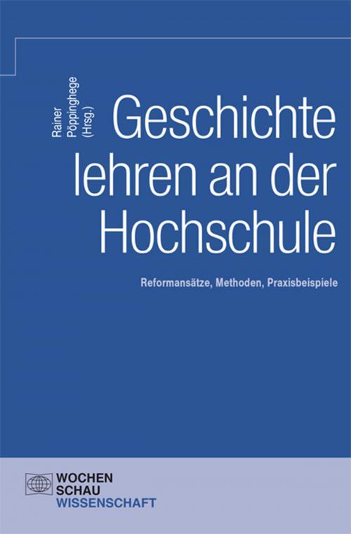 Geschichte lehren an der Hochschule cover