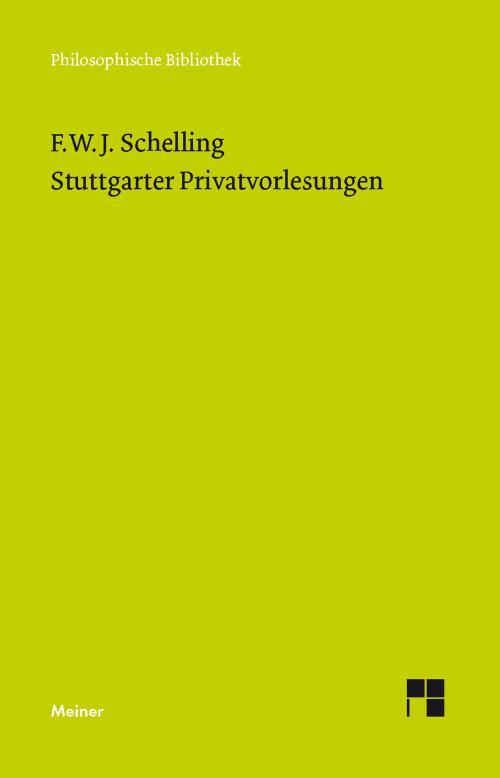 Stuttgarter Privatvorlesungen cover