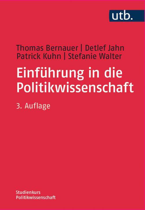 Einführung in die Politikwissenschaft cover