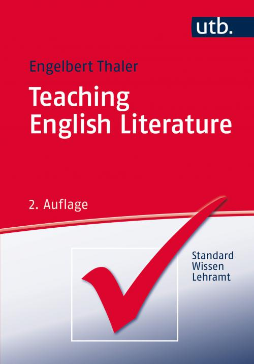 Teaching English Literature cover