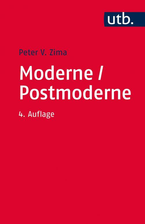 Moderne/ Postmoderne cover