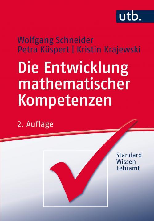 Die Entwicklung mathematischer Kompetenzen cover