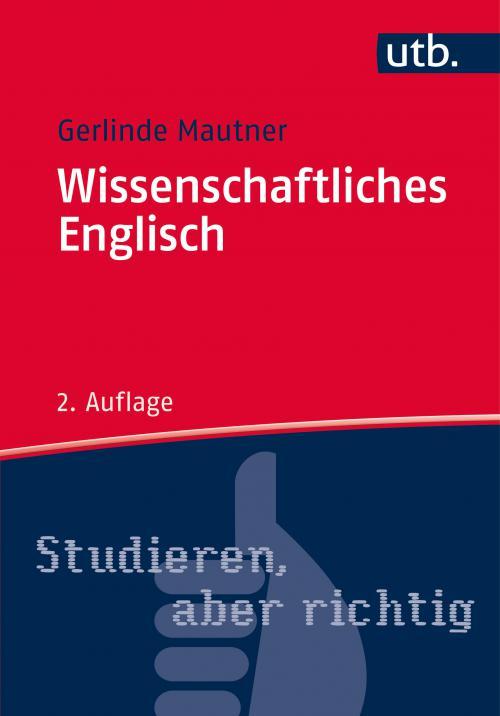 Wissenschaftliches Englisch cover