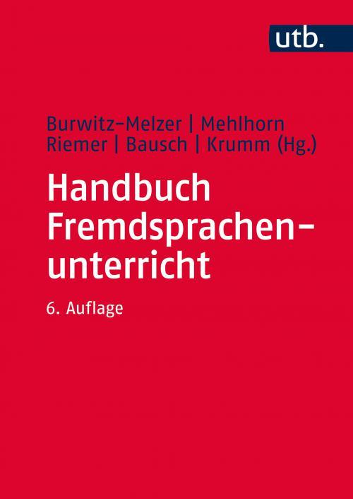 Handbuch Fremdsprachenunterricht cover