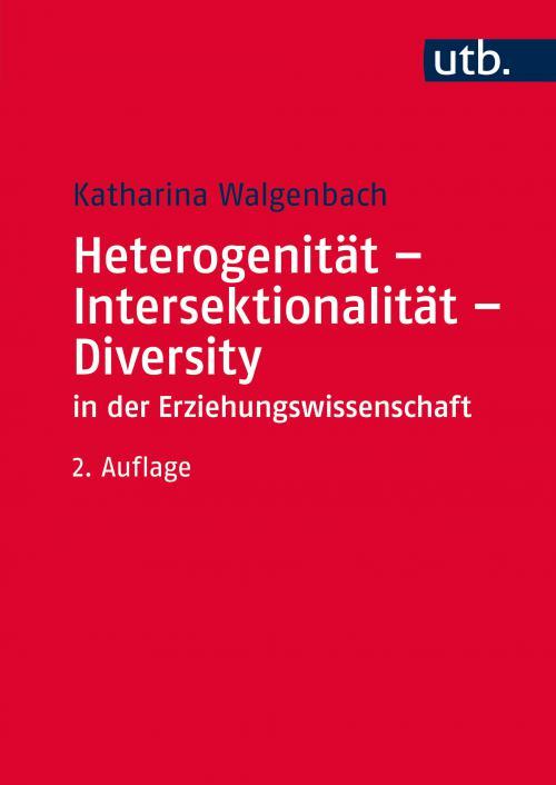 Heterogenität - Intersektionalität - Diversity in der Erziehungswissenschaft cover