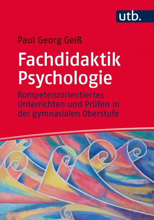 Fachdidaktik Psychologie cover