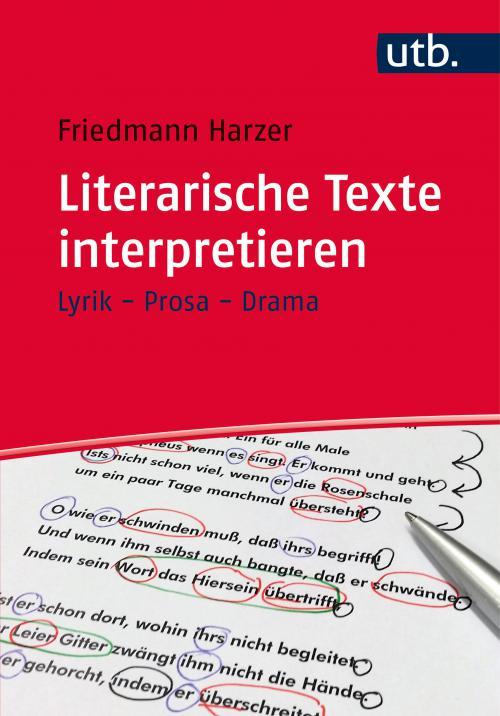 Literarische Texte interpretieren cover
