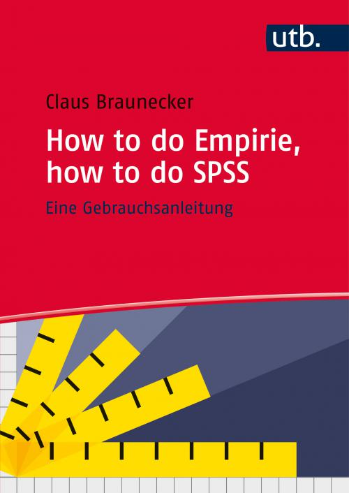 How to do Empirie, how to do SPSS cover