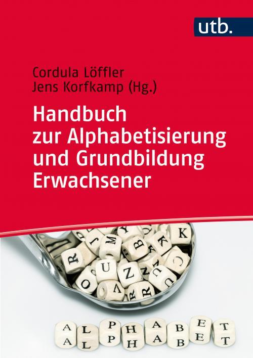 Handbuch zur Alphabetisierung und Grundbildung Erwachsener cover