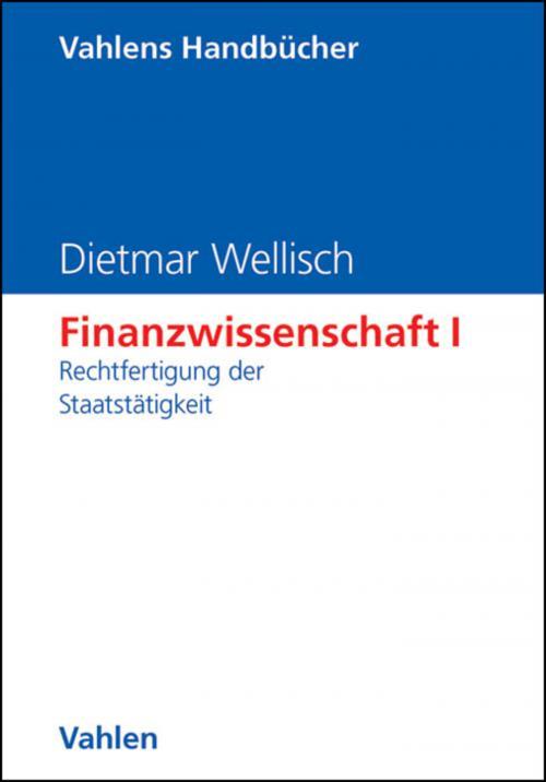 Finanzwissenschaft I: Rechtfertigung der Staatstätigkeit cover