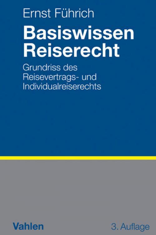 Basiswissen Reiserecht cover