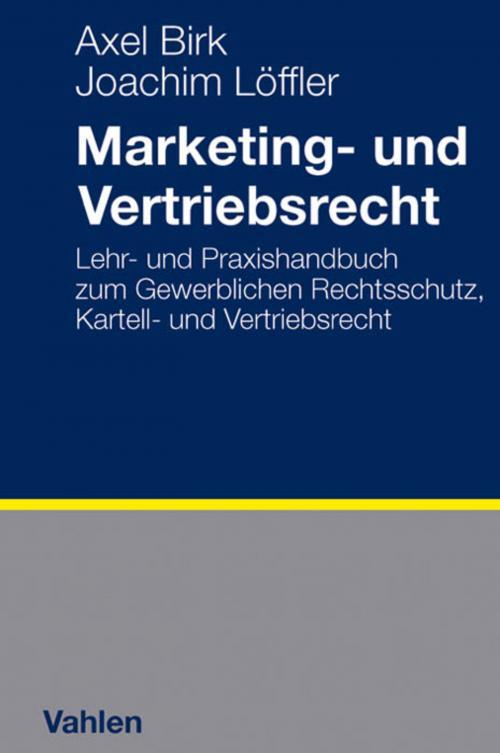 Marketing- und Vertriebsrecht cover