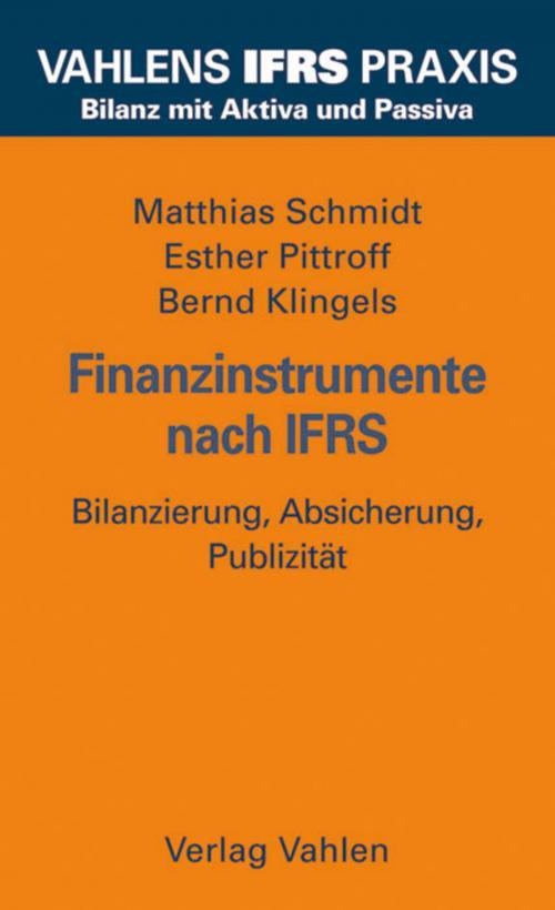 Finanzinstrumente nach IFRS cover