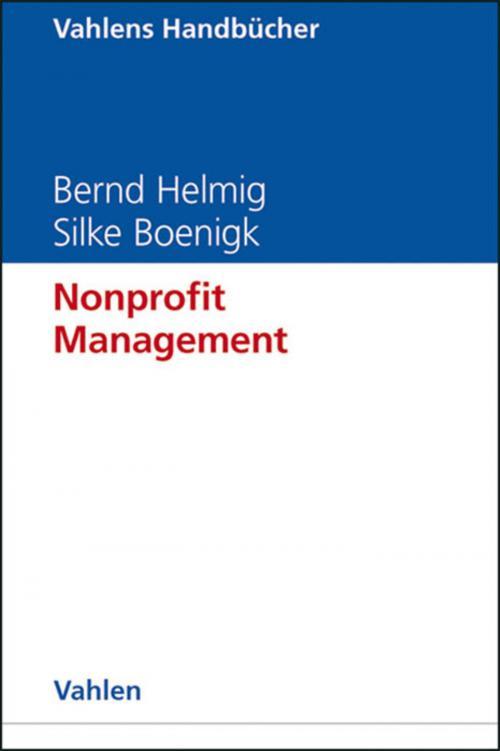 Nonprofit Management cover