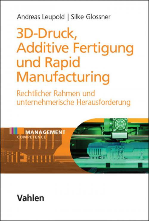 3D-Druck, Additive Fertigung und Rapid Manufacturing cover