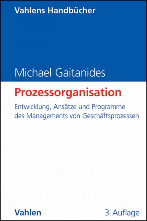 Prozessorganisation cover