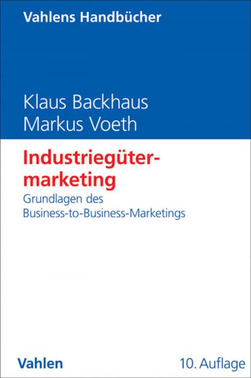 Industriegütermarketing cover