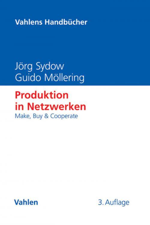 Produktion in Netzwerken cover