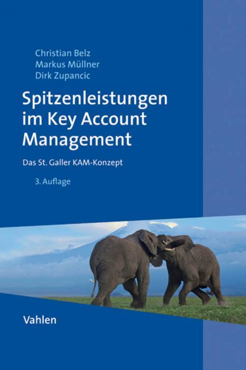 Spitzenleistungen im Key Account Management cover
