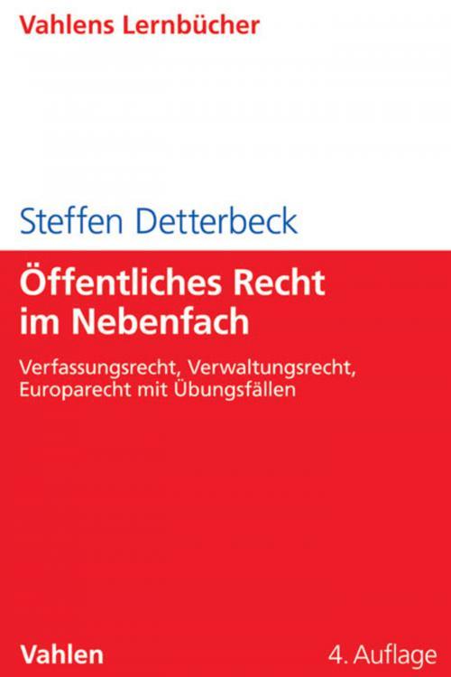 Öffentliches Recht im Nebenfach cover