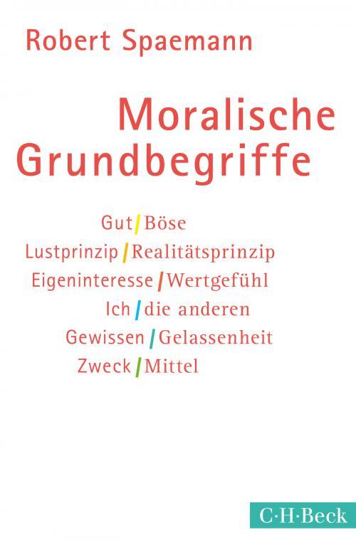 Moralische Grundbegriffe cover