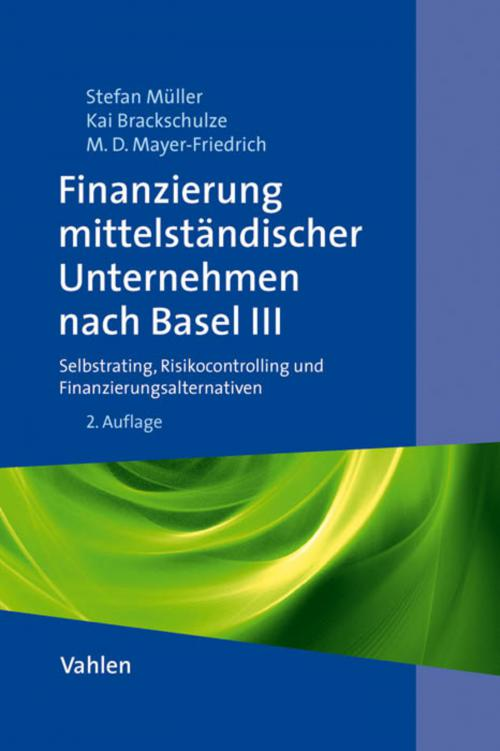 Finanzierung mittelständischer Unternehmen nach Basel III cover