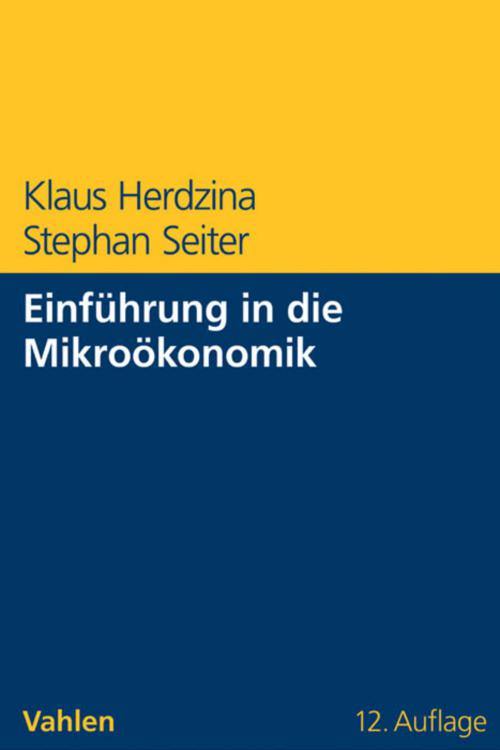 Einführung in die Mikroökonomik cover