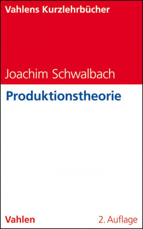 Produktionstheorie cover