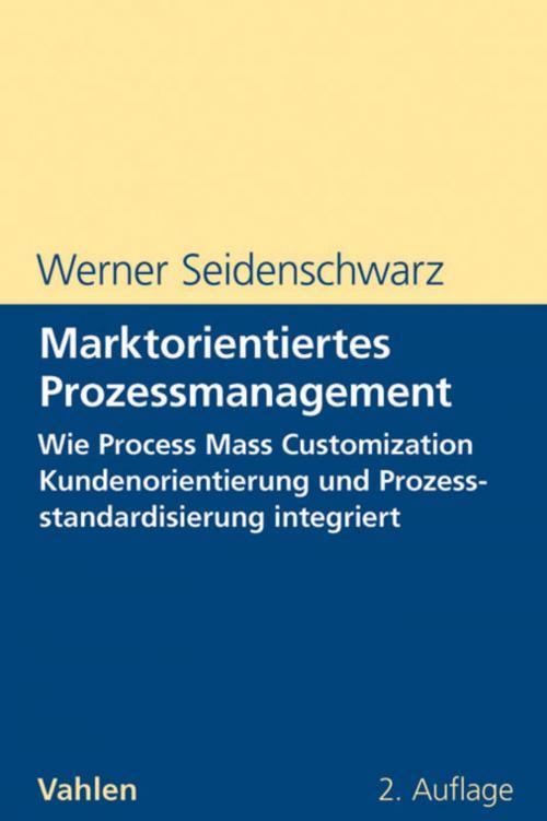 Marktorientiertes Prozessmanagement cover