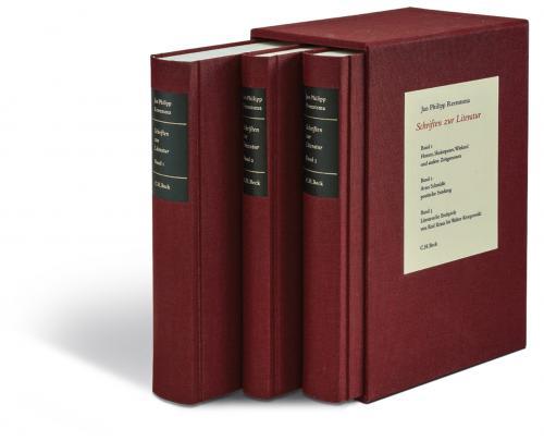 Schriften zur Literatur Gesamtwerk cover