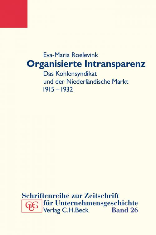 Organisierte Intransparenz cover