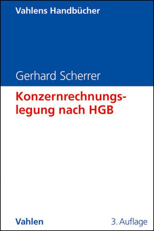 Konzernrechnungslegung nach HGB cover