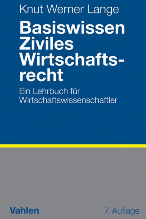 Basiswissen Ziviles Wirtschaftsrecht cover
