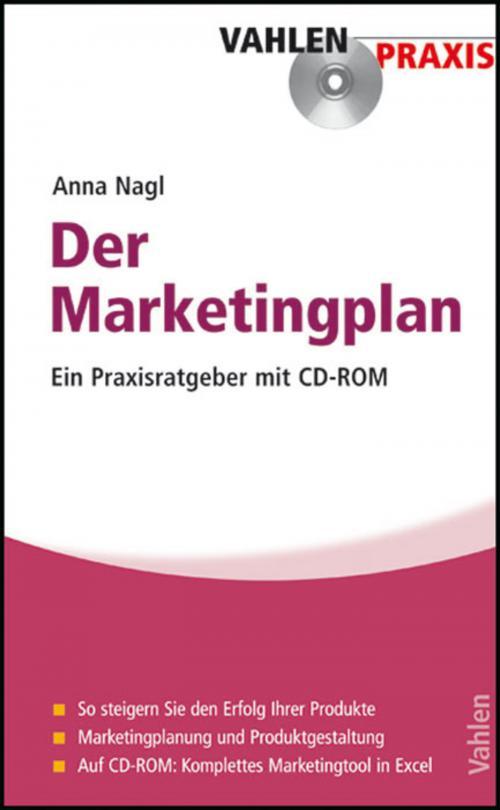Der Marketingplan cover