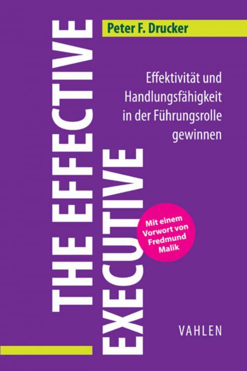 The Effective Executive cover