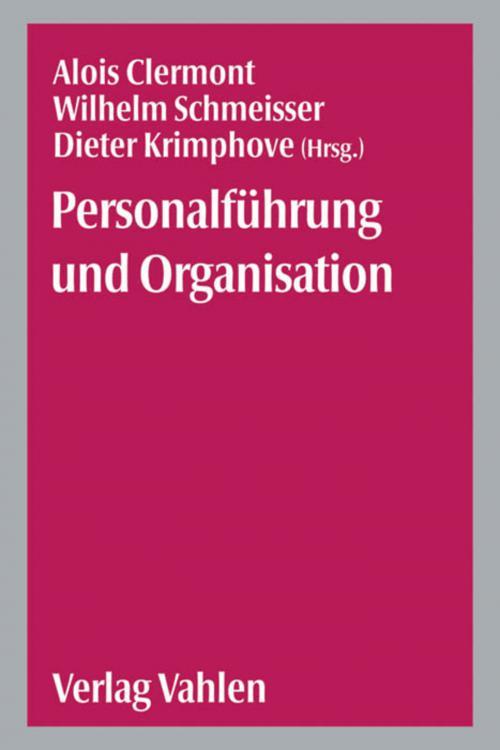 Personalführung und Organisation cover