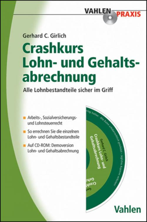 Crashkurs Lohn- und Gehaltsabrechnung cover