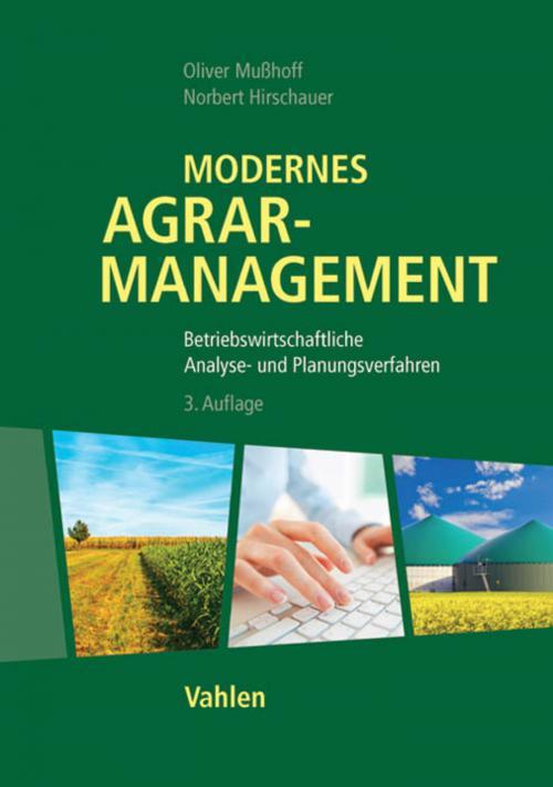 Modernes Agrarmanagement cover