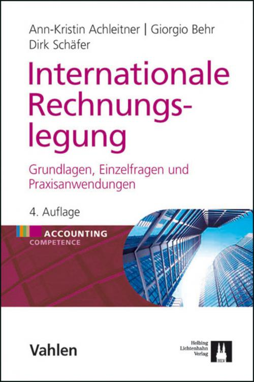 Internationale Rechnungslegung cover