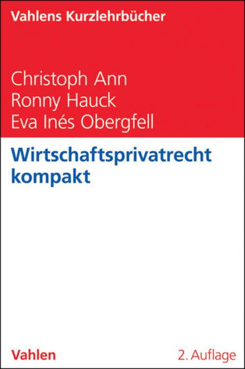 Wirtschaftsprivatrecht kompakt cover