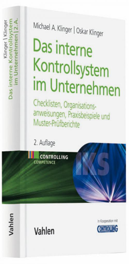 Das Interne Kontrollsystem im Unternehmen cover