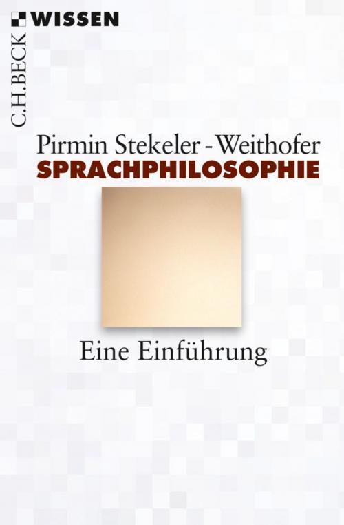 Sprachphilosophie cover