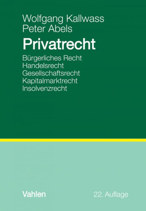 Privatrecht cover