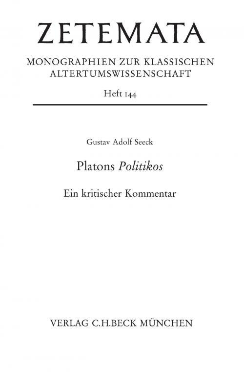 Platons Politikos cover