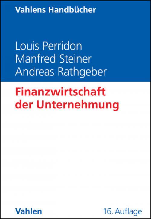 Finanzwirtschaft der Unternehmung cover