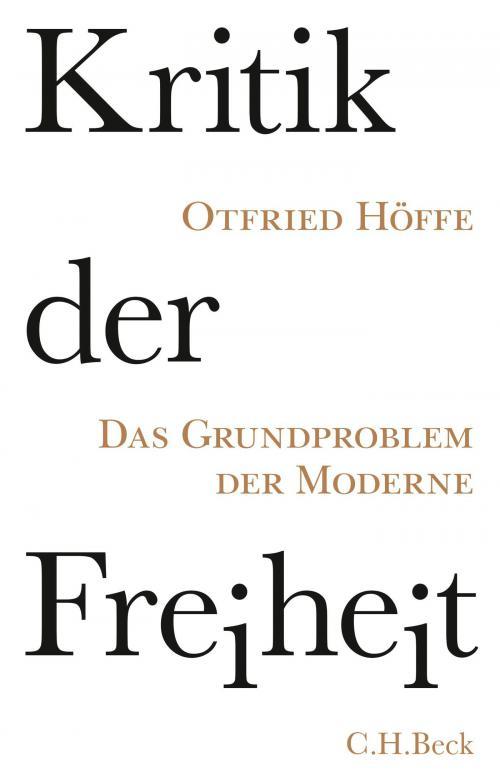 Kritik der Freiheit cover