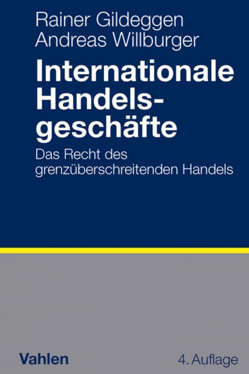 Internationale Handelsgeschäfte cover