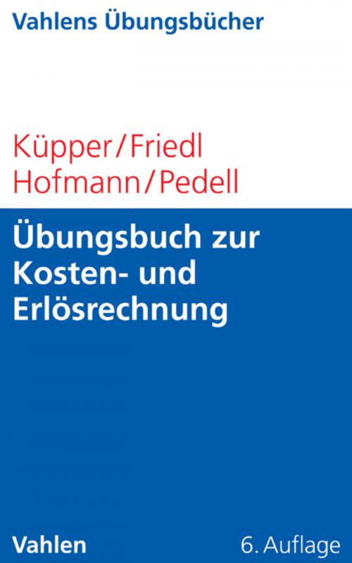 Übungsbuch zur Kosten- und Erlösrechnung cover