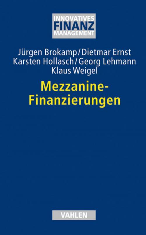 Mezzanine-Finanzierungen cover