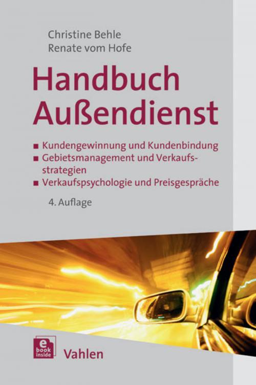Handbuch Außendienst cover